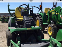JOHN DEERE 24 HP 1435 FRONT  MOWER ONLY 495 HOURS-OPEN TO OFFERS