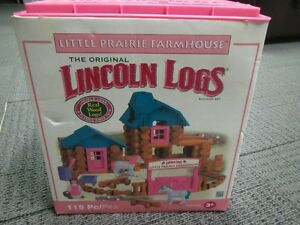LINCOLN LOGS!!! Kawartha Lakes Peterborough Area image 1