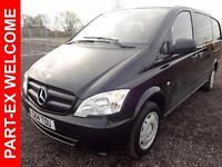 2014 Mercedes-Benz Vito 116 CDI DUALINER Diesel black Manual