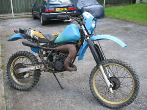 Looking for old air cooled 2 stoke dirtbike that needs work will