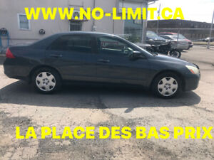 HONDA ACCORD EX 2007 AUTOMATIQUE FINANCEMENT  FACILE SUR PLACE