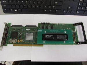 Lot of 4 IBM-06P5737 ServeRaid SCSI-RAID Storage Controller Card
