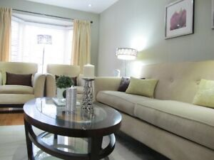 4 Bedrooms House steps to SQ one for rent (furnished)