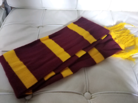 Harry Potter style scarf, Gryffindor