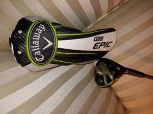2017 Callaway MRH GBB Epic 5 wood. Been hit a couple times 9/10