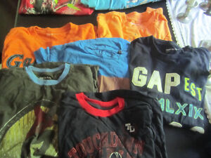 New and used boys clothing mostly size 14-16