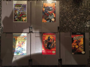 5 Nintendo Entertainment System Games (NES)