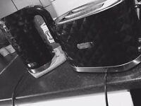 Diamond toaster and kettle