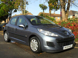 PEUGEOT 207 1.6 HDi DIESEL 2010 ECONOMIQUE COMPLETE WITH M.O.T HPI CLEAR