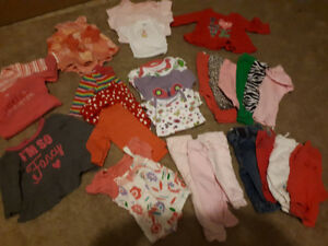 Baby Girls clothing size NB-3 months
