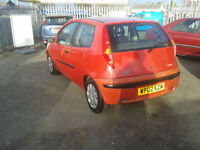 2002 Fiat Punto 1.2 ( JUST £499 ono TO CLEAR )