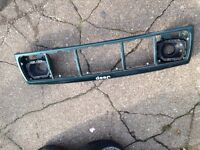 Jeep Cherokee XJ front grill frame with light brackets
