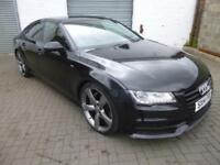 Audi A7 3.0BiTD ( 313ps ) Sportback Tiptronic 2014MY quattro Black Edition