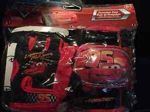 Brand new Disney cars knee pads & gloves