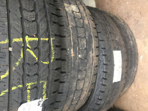 4 winter tires mark Bridgestone 245/75R16 LTgmc savanna