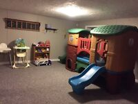 Cornwall daycare - part/full time available