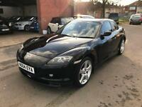 Mazda RX-8 1.3 ( 190bhp ) + 2004 + ONLY 78K + FULLY LOADED + FEB 18 MOT