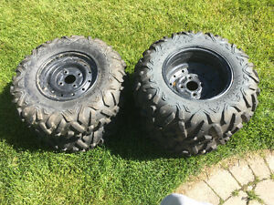 ATV \ UTV Steel Rims and Maxxis Bighorn 2.0 Tires