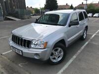 2006 (56) Jeep Grand Cherokee 3.0 CRD V6 Limited 4x4 6 Months Warranty Included