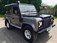 2000 Land Rover Defender 90 CSW Td5 Galvanised Chassis