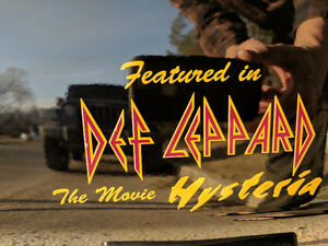 DEF LEPPARD CORVETTE-Reduced!