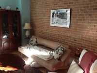 7.5 apartment for rent in St. Henri. Rare find!