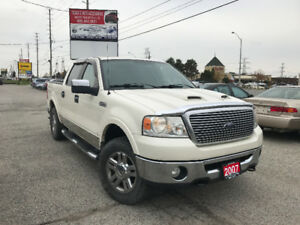 2007 Ford F-150 SuperCrew Lariat, Loaded, Certified, Warranty
