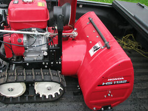 wanted honda snowblower / running /  track type only