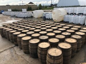 LOOK >>>> FRESH/WET BOURBON & WHISKEY & WINE BARRELS