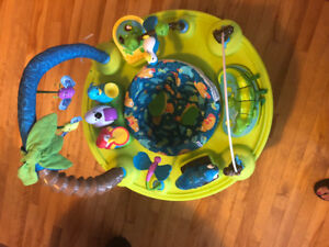 Life in the Amazon exersaucer.