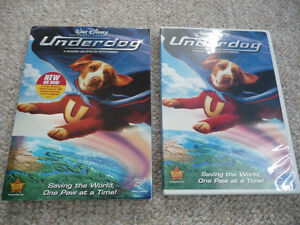 Disney's Underdog on DVD With Slipcover