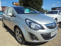 2014 63 VAUXHALL CORSA 1.4 SXI AC 5D 98 BHP FIVE DOOR ONLY 52K MILES ONE OWNER F
