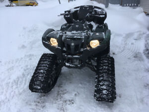 550 grizzly with tracks