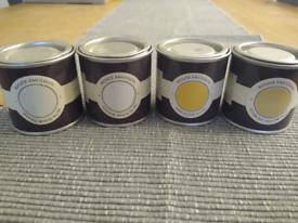Farrow and ball paint samples