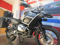 BMW R 1200 GSA TRIPLE BLACK