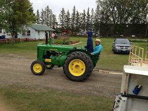 1953 JD AR TRACTOR FOR QUAD