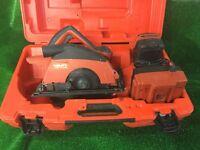 Hilti WSC 70A 36 Volt Cordless a Circular Saw.