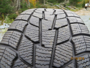 4 Motomaster Winter Edge snow tires