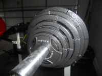 300 Pound Olympic Grip Weight Set