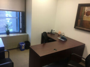 Office for Sub-lease at Queen & Bay