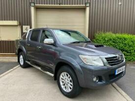 (14) 2014 Toyota Hilux Invincible D/Cab Pick Up 3.0 D-4D 4WD 171 Auto Grey +VAT