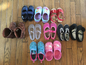 Girl's shoes size 8-9.5/10 London Ontario image 1