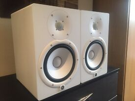 Yamaha HS-8 monitor speakers and stabds