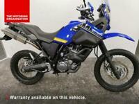2014 Yamaha XT660 Z Tenere XT660 Z Tenere Petrol blue Manual