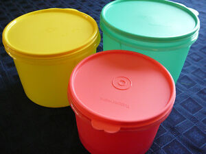 Tupperware Bright Colours Canister Set *NEW*