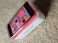 iphone 5c pink with box Rogers and warranty for sale
