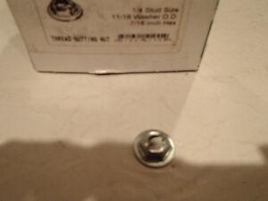 "Thread Cutting Nut 1/4"" Stud Size, 11/16"" Washer OD, 7/16"" Hex. Sarnia Sarnia Area image 2"