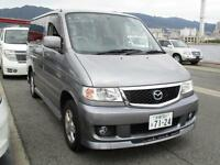 MAZDA BONGO CITY RUNNER, 2006, 66,000 MILES, 2.0, AUTOMATIC IN GREY