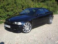 2002 BMW M3 3.2 Coupe 343bhp 2 doors petrol manual in blue