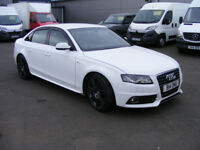 Audi A4 S line Special Edition 2.0TDI 143PS (white) 2010